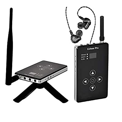Listener Pro 2.4GHz Stereo Wireless in Ear Moni...