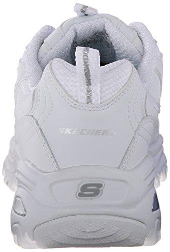 Skechers D'Lites - Fresh Start White 7.5