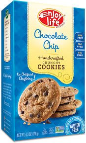 Enjoy Life Handcrafted Crunchy Max 55% OFF Cookies Gluten Chocolate Chi Free Direct store