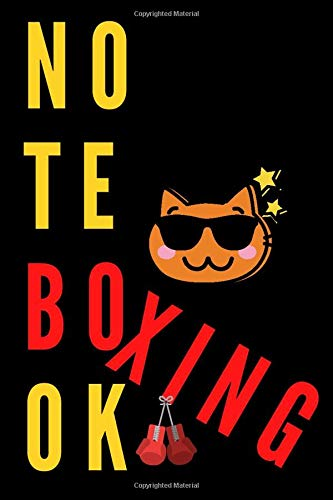 BOXING: Notebook for Boxing Fans, Journal, Diary, Organizer, Paperback (110 Pages, Blank, 6 x 9)
