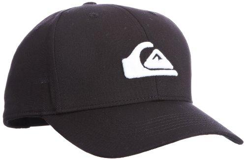 Quiksilver Jungen Baseball Cap Roundtails, Black, One Size