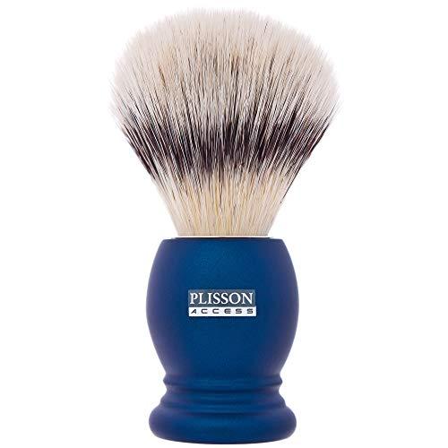 Plisson Rasierpinsel Plisson, Grau Perlmutt