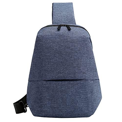 Qagazine Bolso de hombro de la honda del deporte al aire libre del viaje senderismo Crossbody hombro Sling Bag para los hombres