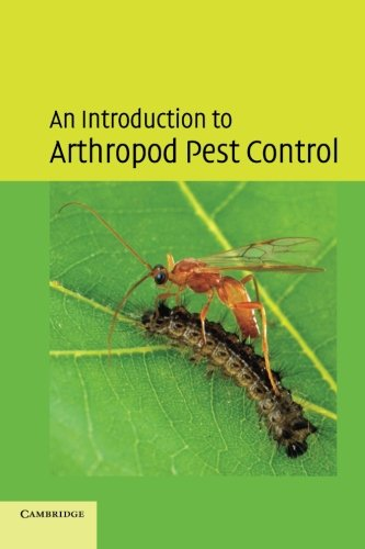 An Introduction to Arthropod Pest Control -  Thacker, J. R. M., Paperback