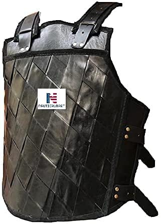 Cheap mail order sales Nautical-Mart Genuine Leather Vest Medieval Armour Rena LARP SCA outlet