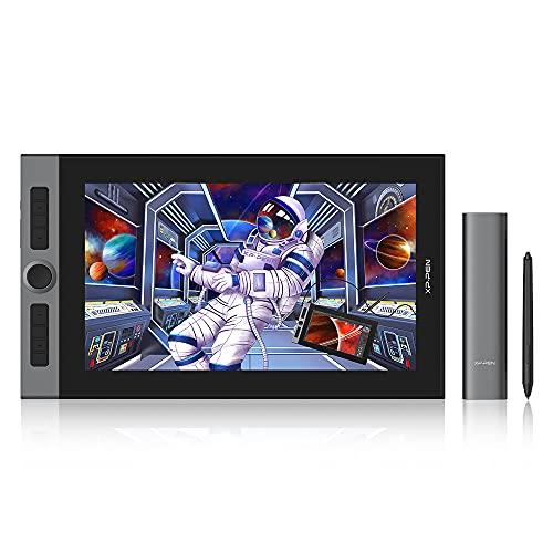 XP-PEN Artist Pro 16 Tavoletta Grafica con Schermo Full-Laminato da 15,4 pollici, 133% sRGB, Display con Penna senza batteria con X3 Smart-Chip, per il disegno professionale