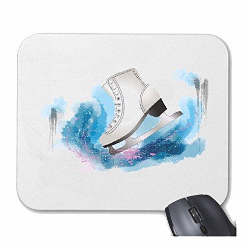 Mousepad (Mauspad) SCHLITTSCHUH SCHLITTSCHUHBAHN EISHOCKEY SCHLITTSCHUHLAUFEN KUFEN SCHLITTSCHUH SCHLITTSCHUHBAHN EISHOCKEY SCHLITTSCHUHLAUFEN KUFEN für ihren Laptop, Notebook oder Internet