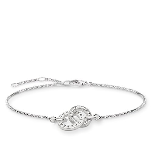 THOMAS SABO Damen Armband Glam & Soul Together Forever Zirkonia 925 Sterling Silber A1551-051-14