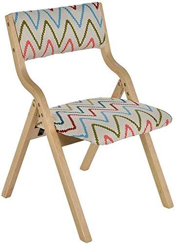 WWW-DENG barkruk, inklapbaar, van hout, met rugleuning, voor thuis en op kantoor, make-up tafel, stoel voor kinderen, barkruk