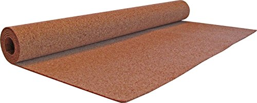 cork raw materials Flipside Products Cork Roll, 4' x 6', 3mm Thick, Brown, Model:38000