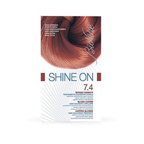 Bionike Shine On Tarttamento Colorante Capelli (Colore 7.4 Biondo Ramato)