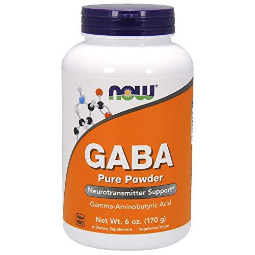 NOW Supplements, GABA (Gamma-Aminobutyric Acid) Powder, Neurotransmitter Support*, 6-Ounce