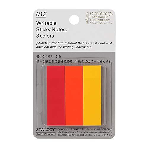 ニトムズ 書けるふせん 3色 A S3060 1セット1500枚:150枚10パック
