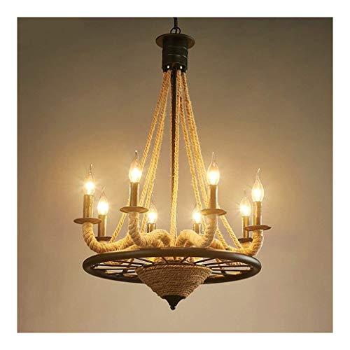 Hanglamp hanglamp hanglamp hanglamp hanglamp hanglamp 8 stuks rond metalen snoer licht plafondlamp voor woonkamer elegante en mooie huisverlichting