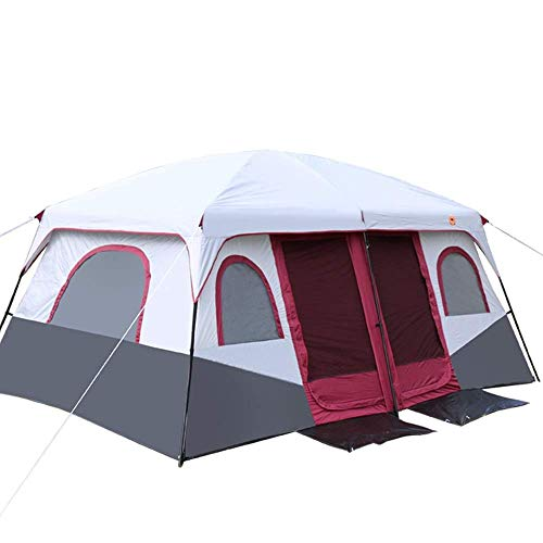 Busirsiz Tent-Tent Outdoor Camping Multi-person Beach Big Tent Easy to install, suitable for outdoor, hiking and