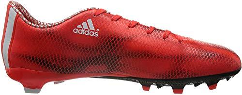 adidas F10 FG, Herren Fußballschuhe, Rot (Solar Red/Ftwr White/Core Black), 42 EU (8 Herren UK)