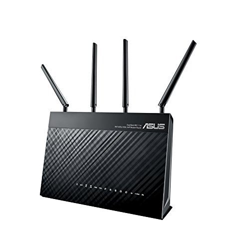 Asus DSL-AC87VG VOIP Modem Router (DE-Version, WiFi 5 AC2400 MIMO, Anrufbeantworter, Gigabit LAN, AiProtection, Dual-Core CPU, Multifunktion USB 3.0)