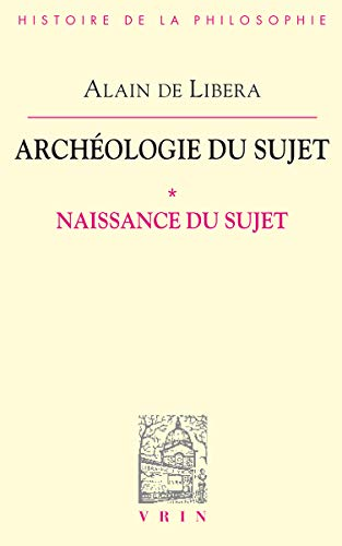 Archéologie du sujet