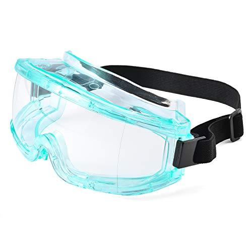 SAFEYEAR Gafas de seguridad-SG031 [Certificación EN166] Super Lentes Gafas de seguridad antiniebla Protección UV Gafas antiarañazos