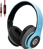 8S Casque Bluetooth 5.0 sans Fil, Stéréo Hi-FI Casque, Léger et Pliable - Écouteurs Confortables, Micro SD/TF, FM pour iPhone/Samsung/iPad/PC