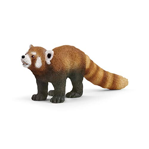 Schleich Wild Life Red Panda Educational Figurine for Kids Ages 3-8