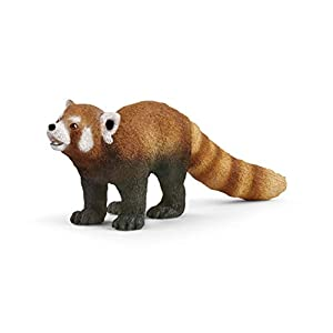 SCHLEICH Wild Life, Animal Figurine, Animal Toys for Boys and Girls 3-8 Years Old, Red Panda - 41z0r3FDICL - SCHLEICH Wild Life, Animal Figurine, Animal Toys for Boys and Girls 3-8 Years Old, Red Panda