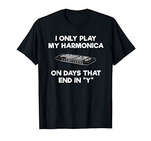Harmonica T-Shirt - Funny Harmonica Player Days