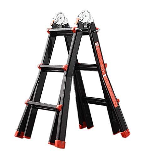 color plateado plataforma Xtra-Lite TB Davies 1216-010 Escalera gigante de 3 hilos delgada y ligera