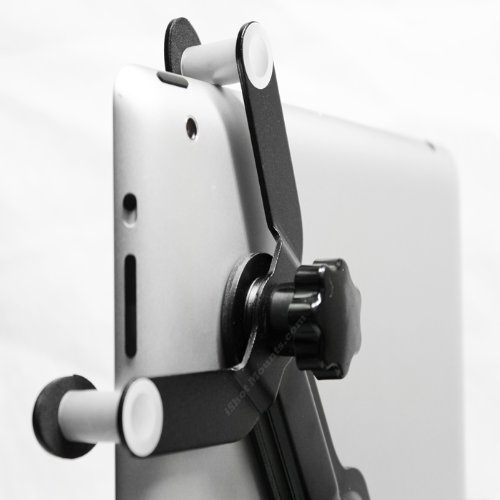 iPad - iPad 2 Tripod Mount - G7 Pro By iShot Mounts - Adapter - Holder - Attachemnt - Long Lasting Sturdy Aluminum Frame - 1/4-20 - Safely Mount Your iPad to a Tripod - Works with Most Cases, Sleeves, Screen Protectors, etc. - Golf Swing Instructors, Teachers, Photographers, Business (i-8846-G7/4002)