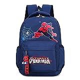 Hflyy Sac D'école Spiderman Sacs À Dos pour Enfants...
