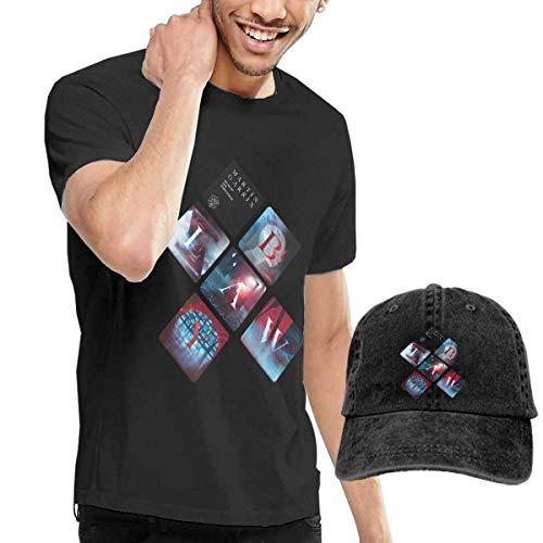 Baostic Herren Kurzarmshirt Men Martin Garrix Music Band T Shirt Fashion T Shirts Buy Tshirt Get Hat Free Collocation Gift