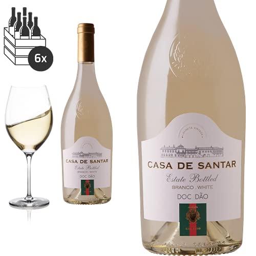 6er Karton 2018 Dao branco von Casa Santar - Weißwein