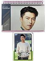 ヒョンビン Hyun Bin グッズ / 2021年 - 2022年 (2年分) 卓上 カレンダー + ポストカード 12枚(+α) セット - 2021-2022 (2years) Desk Calendar + Post Card 12sheets(+α)Set [TradePlace K-POP 韓国製]