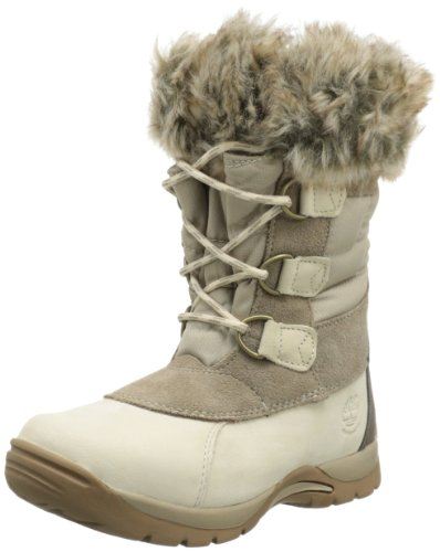 Hot Sale Timberland Blizzard Bliss Waterproof Snow Boot (Toddler/Little Kid/Big Kid),Winter White,5.5 M US Big Kid