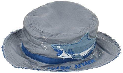 Hatley Jungen LBH Children's Bucket Hat - Shark Attack Mütze, Mehrfarbig...
