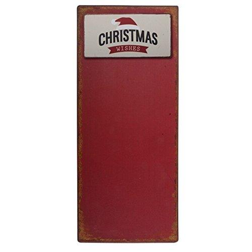 IB Laursen Metallschild + Magnet Christmas Wishes Wunschliste