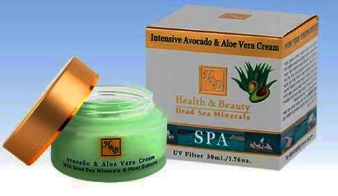 Health and Beauty Dead Sea Minerals Intensive Avocado & aloe Vera Cream
