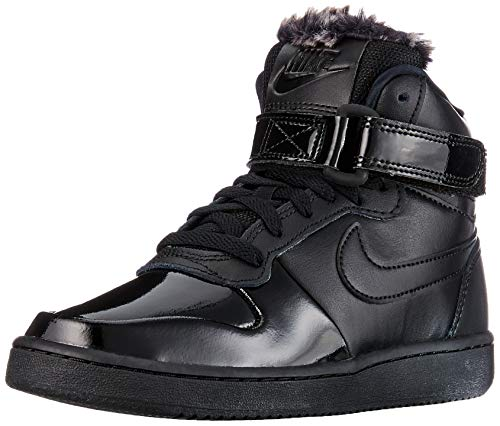 Nike Damen WMNS Ebernon Mid Prem Fitnessschuhe, Schwarz (Black/Black 001), 38.5 EU