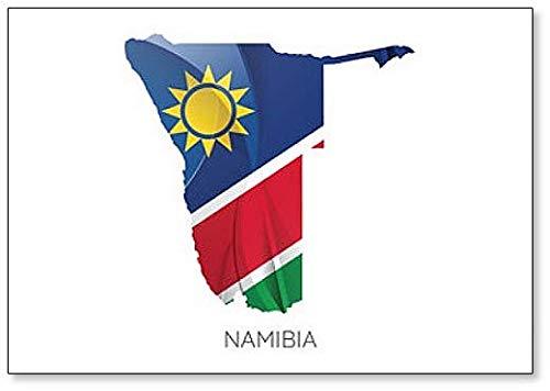 Kühlschrankmagnet mit Flagge von Namibia