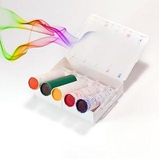 FARBE RAUCH AX-18 Box mit 5 patronen - Multi-Farbe: ROT, GRÜN, BLAU, GELBE UND ORANGE