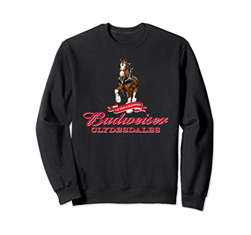 Budweiser 'The World Renowned Clydesdales' Sweatshirt