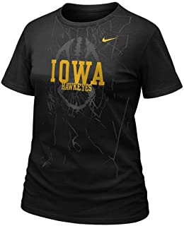 NIKE Iowa Hawkeyes Womens Football Practice T-Shirt