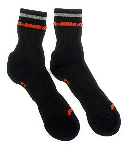KTM 1 Paar Factory Line Qualitäts Socken/Gr. 40-43/44-47, Sockengröße:44-47