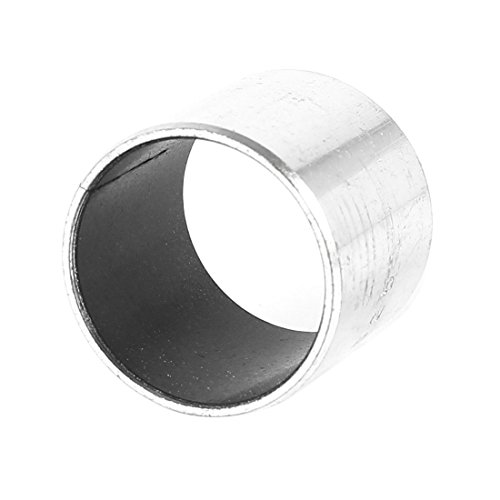 4/pcs 6/mm Longueur X 12/mm OD X 10/mm al/ésage ton argent Uni /à manches Roulement