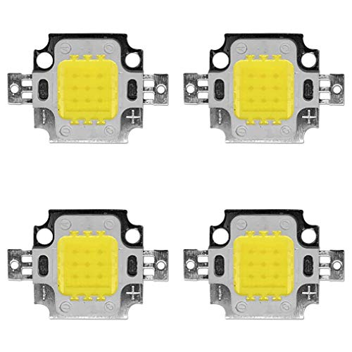 4 x 10W LED Chip mit hoher Leistung für Strahler/Lampe/Leuchte; kaltweiß