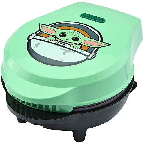Star Wars LSW-46C The Child 4' Mini Waffle Maker, 4', Green