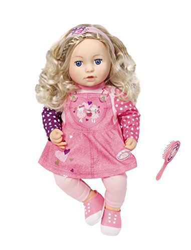 Zapf Creation 700648 Baby Annabell Sophia so Soft Puppe, 43 cm
