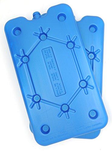 NEMT 2X Flacher Kühlakku 400 ml Kühlakkus 25x14x1,4cm Kühlelemente Kühltasche Kühlbox