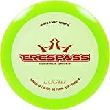 Dynamic Discs Lucid Trespass Disc Golf Driver | Maximum Distance Frisbee Golf Driver | Stable Golf Disc | Stamp Colors Will Vary (Green)
