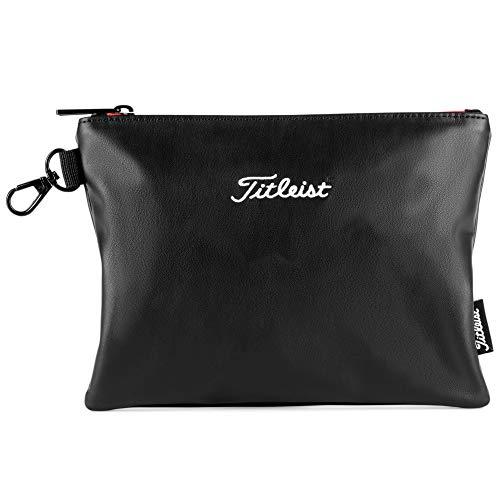 Titleist Travel Gear Professional Zippered Golf Pouch Black